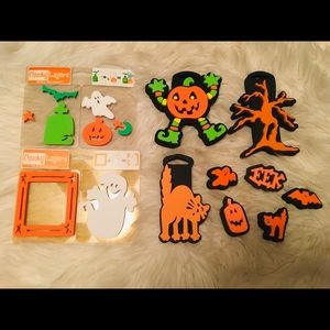 Other - Cute Halloween 17pc Lot Stamps & Sticker